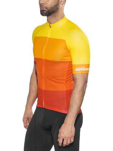 Red Cycling Products Colorblock Race maglietta a maniche corte Uomo giallo/rosso